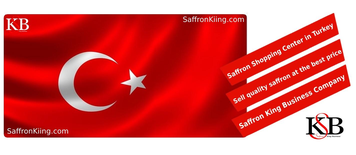 İstanbul'a safran ihracatı